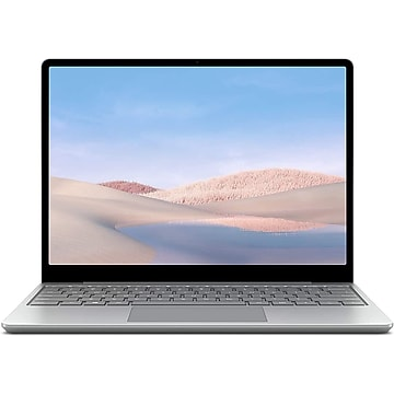 """Microsoft Surface Laptop GO 1ZO-00001 12.4"""" Touch Notebook, Intel Core i5-1035G1, 4GB Memory, 64GB eMMC, Windows 10 Home"""