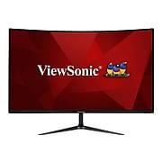 "ViewSonic 32"" Curved LED Monitor, Black (VX3218-PC-MHD-EU)"