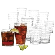 Gibson Home Great Foundations 16 Piece Glass Set (9184916)