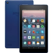 """Amazon Kindle Fire 7th Gen 7"""" Tablet, 16GB, Fire OS 5.3.3, Marine Blue"""