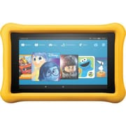"""Amazon Kindle Fire Kids Edition 7th Gen 7"""" Tablet, 16GB, Fire OS 5.3, Yellow"""