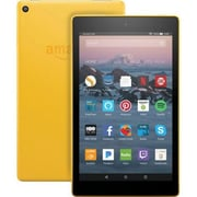 """Amazon Kindle Fire HD 7th Gen 8"""" Tablet, 16GB, Fire OS, Canary Yellow"""