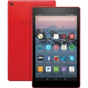 "Fire HD 7 Tablet w/ Fire OS , 8"" HD Display, 16 GB, Punch Red"