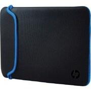 """HP® V5C31AA Neoprene Sleeve for 15.6"""" Notebook, Black/Red"""
