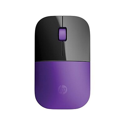 HP® Z3700 USB Wireless Blue LED Mouse, Purple (HPX7Q45AA)