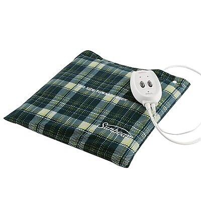 Sunbeam® Flexi-Soft Massaging Heating Pad, Plaid (MNV730-000-000U)