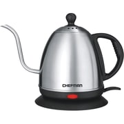 Chefman® Cordless Electric Kettle, 1 Liter, Stainless Steel (RJ11-GN)