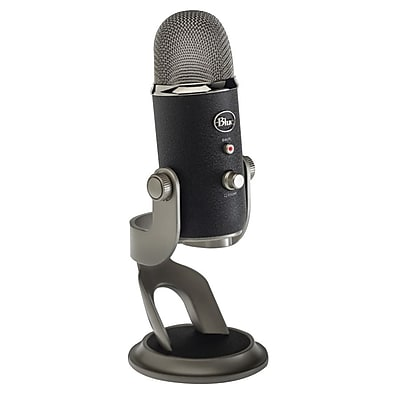 Blue Microphones® Yeti Professional Multi-Pattern USB Microphone