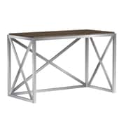 Bell'O Montevallo Desk Open Design X Frame, Soft Brown (OD20454-PW15)