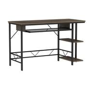 Bell'O Farley Computer Desk with Bookshelves, Umber Oak (OD48-90203-PO90)