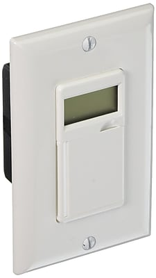 Woods In-Wall 7-Day Digital Timer, White (59020)