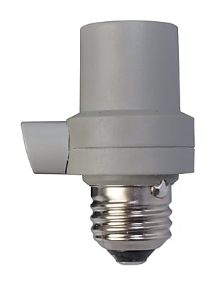 Woods Outdoor CFL LED Light Control Socket with Photocell (59405WD)