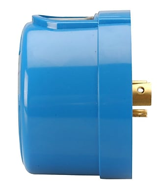 Woods Outdoor Twist-To-Lock Control with Light Sensor, Blue (59412)