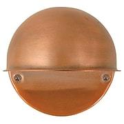 Moonrays  Low Voltage Round Metal Surface Light with 7-Watt Bulb, Antique Bronze (95734)