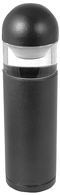 Moonrays Bollard-Style Low Voltage 10-Watt 12-Volt Metal Path Light, Black Finish (95836)