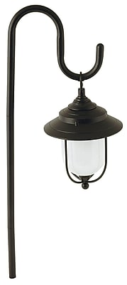 Moonrays Parker-Style Low Voltage 10-Watt 12-Volt Metal Path Light, Redwood Finish (95867)