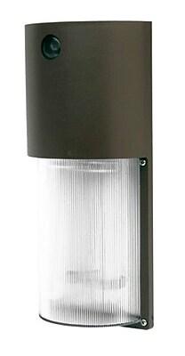 Designer's Edge ECOZONE 26-Watt Fluorescent Dusk to Dawn Security Light, Bronze (L-1772)