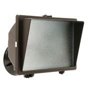Designer's Edge 500-Watt Halogen Floodlight, Bronze (L-31BR)