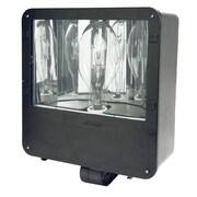 Designer's Edge 400-Watt P/S Mh Shoe Box Flood Outdoor Security Light (L4300MH)
