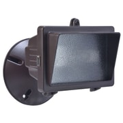 Designer's Edge 150-Watt Mini Halogen Floodlight, Bronze (L-56BR)