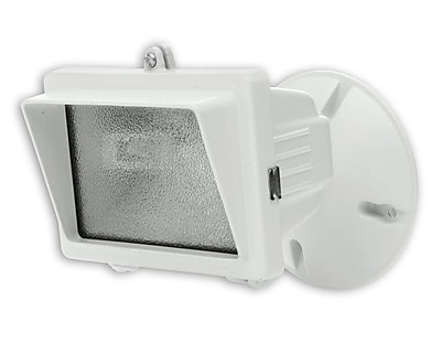 Designer's Edge 150-Watt Mini Halogen Floodlight, White (L-56WH)