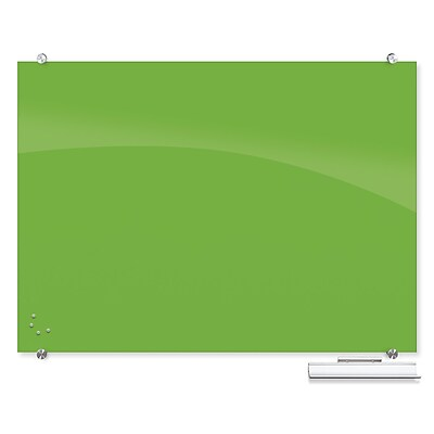 Best-Rite Visionary Colors Magnetic Glass Dry Erase Whiteboard 35.43