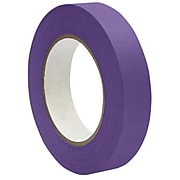 "DSS Distributing 1"" x 55 Yds, Premium Grade Masking Tape, Purple, 6 Rolls/Bundle (DSS4616P-6)"