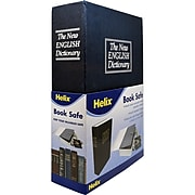 """Helix Metal Hardback Book Safe """"The New English Dictionary"""" Safe with Lock (MAP61021)"""