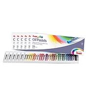 Pentel Oil Pastel Set, Assorted Colors, 25/Set, 6 Sets (PENPHN25-6)