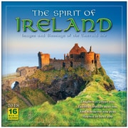 """2018 Sellers Publishing, Inc. 12"""" x 12"""" Spirit Of Ireland, The: Images And Blessings Of The Emerald Isle Wall Calendar (CA0161)"""