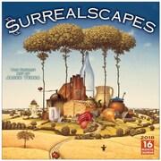 "2018 Sellers Publishing, Inc. 12"" x 12"" Surrealscapes: The Fantasy Art Of Jacek Yerka Wall Calendar (CA0165)"