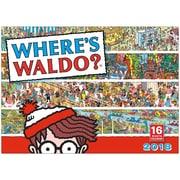"2018 Sellers Publishing, Inc. 10"" x 14"" Where's Waldo?® Wall Calendar (CA0171)"