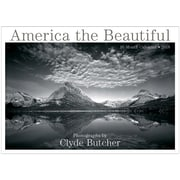 """2018 Sellers Publishing, Inc. 10"""" x 14"""" America The Beautiful - Photographs By Clyde Butcher Wall Calendar (CA0102)"""