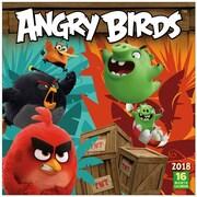 "2018 Sellers Publishing, Inc. 12"" x 12"" Angry Birds™ Wall Calendar (CA0104)"