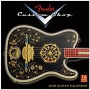 "2018 Sellers Publishing, Inc. 12"" x 12"" Fender™ Custom Shop Guitars Wall Calendar (CA0133)"