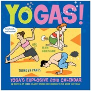 "2018 Sellers Publishing, Inc. 12"" x 12"" Yogas!: Yogas Explosive 2018 Calendar Wall Calendar (CA0177)"