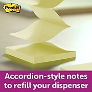 """Post-it® Designer Pop-up Notes and Flag Dispenser for 1"""" and 1/2"""" Flags and 3"""" x 3"""" Notes, Black (DS100)"""