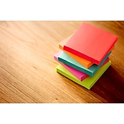 """Post-it® Notes, 3"""" x 3"""", Cape Town Collection, 100 Sheets/Pad, 14 Pads (654-14AN)"""