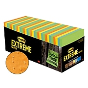 """Post-it® Extreme Notes, 3"""" x 3"""", Orange, Green, Yellow, Mint, 32 Pads/Pack (EXTRM33-32CBNT)"""