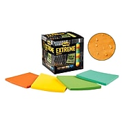"""Post-it Extreme Dura-Hold Notes, 3"""" x 3"""" Assorted Colors, 45 Sheets/Pad, 12 Pads/Pack (EXTRM33-12TRYX)"""