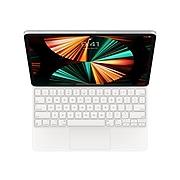 "Apple MJQL3LL/A Magic Keyboard Folio for 12.9"" iPad Pro, White"