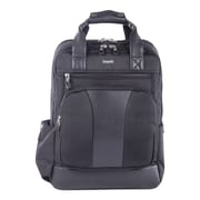 Bugatti Business Backpack in Polyester, Black (BKP112-BLACK)
