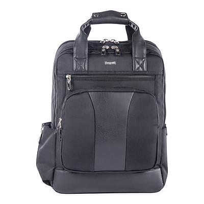 Bugatti Business Backpack in Polyester, Black (BKP112-BLACK)