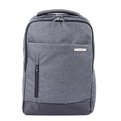 Bugatti Polyester Business Backpack, Charcoal (BKP115-CHARCOAL)