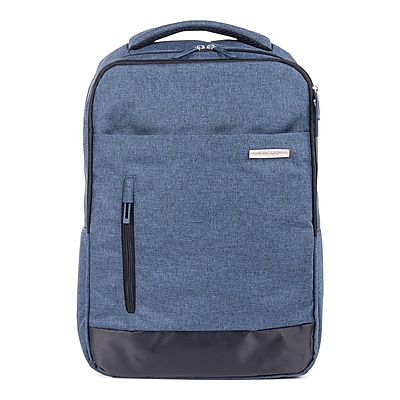 Bugatti Polyester Business Backpack, Blue (BKP115-BLUE)