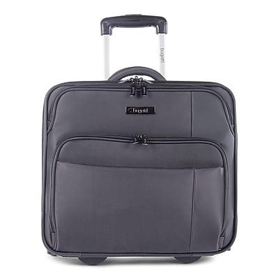 Bugatti Business Case on Wheels, Grey (BZCW302-Black)