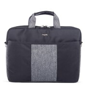Bugatti Polyester Briefcase, Black/Grey (EXB529)
