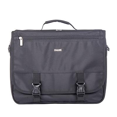 Bugatti Polyester Executive Briefcase, Black (EXB531-Black)