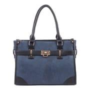 Bugatti Ladies Tote Bag, Blue/Black (LBG708-BLACK)