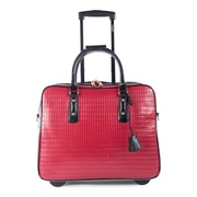 Bugatti Ladies Business Bag on Wheels, Red (LBZW1702-RED)